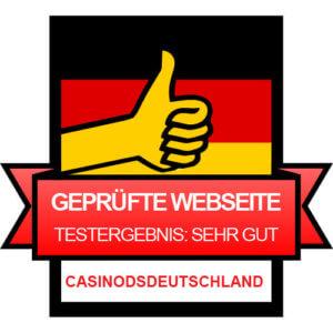 Online Casino Test Gütesiegel | Sicher & Vertrauenswürdig | Casinosdeutschland.com.de Testsieger #1 in Deutschland