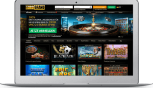 Spielen Sie Online Casino Spiele bei EuroGrand.